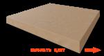 Плитка прямая искусственный бетон