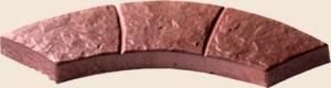 Дугообразная плитка (3 секции)