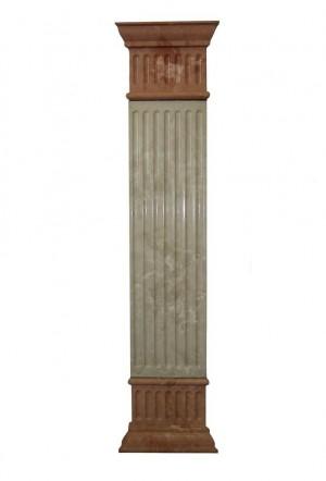 Декоративный элемент фасада — Пилястра