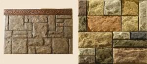 Комплект из 11 искусственных камней
