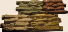 Облицовочный камень для фасада «Крупный плитняк»