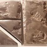 Тротуарная плитка «Слиток золота»