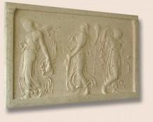 Декоративный элемент фасада — Греческий барельеф