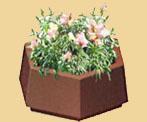 Бетонная цветочница Ц 6-2