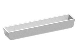 Цветочница прямоугольная длинная Ц-4-25
