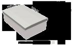 Крышка на забор (парапет) 950х620х55