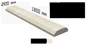 Перила для балюстрады 1800х200х60