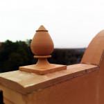 Крышка на забор (парапет) 950х625х55