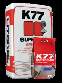 Клей для плитки SUPERFLEX K77