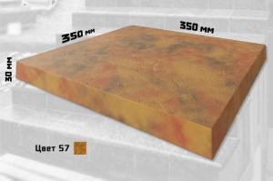 Плитка для ступеней без закруглений (цвет №57)