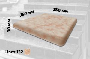 Плитка правая искусственный мрамор (цвет №132)