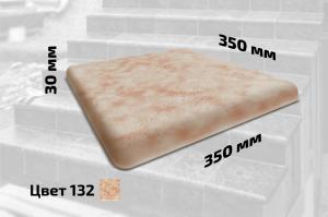 Плитка левая искусственный мрамор (цвет №132)