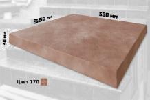 Плитка искусственный мрамор без закруглений (цвет №170)