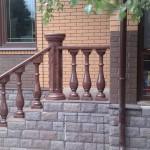 Крышка на столб круглая ⌀ 345 мм
