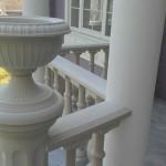 Крышка на столб под вазон круглая ⌀ 345 мм