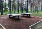 Теннисный стол из бетона антивандальный