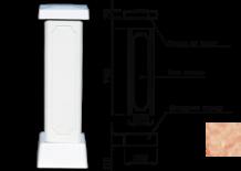 Столб для балюстрады (тумба) цвет 132