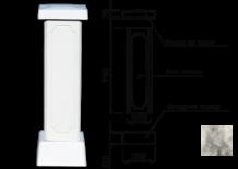 Столб для балюстрады (тумба) цвет 66