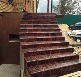 Искусственные плиты для лестницы